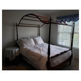 Cherry Queen Canopy Bed
