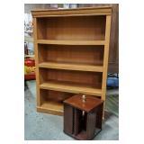 Maple Bookcase & CD Holder