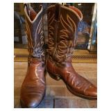 Mens Vtg Cowboy Boots