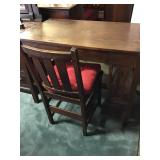 Mission Style Desk & Chair