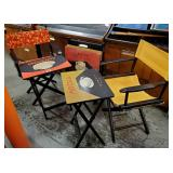 Pier One TV Trays & Director Chairs