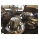Silver Plate & Pewter Ware