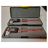 Stainless Steel Gauges w/Cases 2