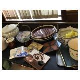 Trivets, Trays & Pottery