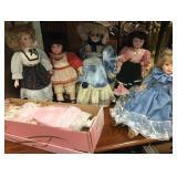 Victorian Style Porcelain Dolls #2