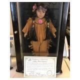 Vtg Ashley Belle Native American Doll