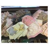 Vtg Decorative Silks