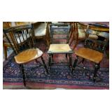 Vtg Hitchcock Chairs 3