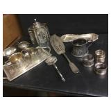 Atq Engraved Silver Plate