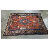 Atq Hand-Knotted Tribal Rug #2