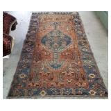 Atq Hand-Knotted Tribal Rug