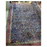 Atq Room-Size Hand-Knotted Rug