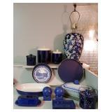 Blue & White Kitchen + Decor