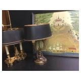 Early American Folk Art & Lamps