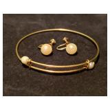 Jewelry 14kt Gold & Pearl