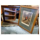 Mirror + Framed Horse Print