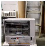 New HeatMate Kerosene Heater + Extension Ladder