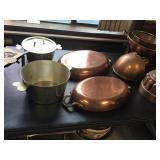 Vtg Copper Ware