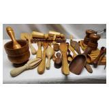 Wood Cooking & Serving Utensils