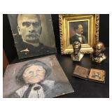Atq Portraits, Busts +