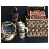 Baskets & Rustic Decor
