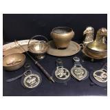 Brass Harness Medallions +