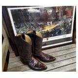 Cowboy Boots + Signed UK Poster
