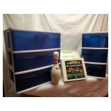 Deck Lighting, Igloo Cooler & Storage