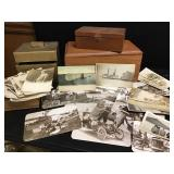 Handmade Boxes & Vtg Photographs