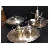 Pewter & Silver Plate Serveware