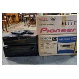 Pioneer DVD & Denon AV Receiver