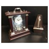 Seth Thomas Metronome & Wallace Clock