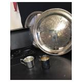Silver Plate Trays +