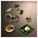 Vtg Equine Jewelry