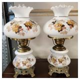 Vtg Gone with the Wind Lamps 2