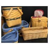 Vtg Longaberger Baskets 5