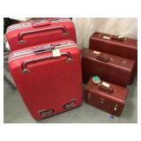 Vtg Luggage 5