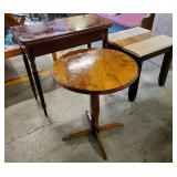Vtg Tables 3, Bombay Co.