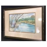 William Zappone Original Watercolor