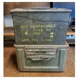 WWII Cartridge Boxes