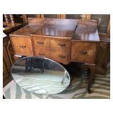 Art Deco Dressing Table & Mirror