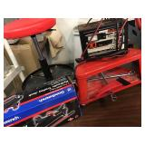 Auto Repair Stools, Hydraulic Jack, Battery Charger