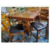 Bar-Height Table + Four Chairs