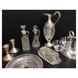 Duchin Wt Sterling, Buenilum, Venetian Glassware