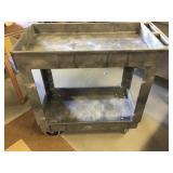 Gray Utility Cart