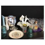 KY Deby Glasses 75 & 85, Milk Glass