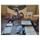Shark Steamer, Video Camera & Kodak Printer