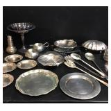 Silver Plate & Pewter
