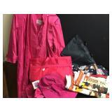Totes Raincoat, Hats & Bag