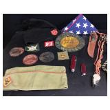 Vtg Boy Scout & Other Insignia
